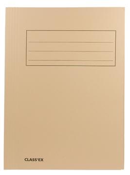 Class'ex dossiermap, 3 kleppen ft 23,7 x 32 cm (voor ft A4), gems