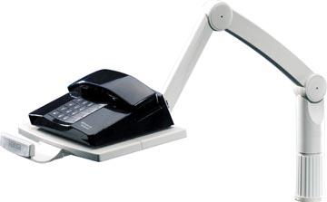 Styro telefoonarm lichtgrijs