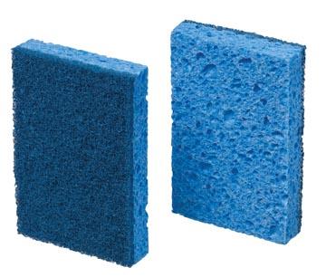 Scotch Brite spons 770, blauw, pak van 10 stuks