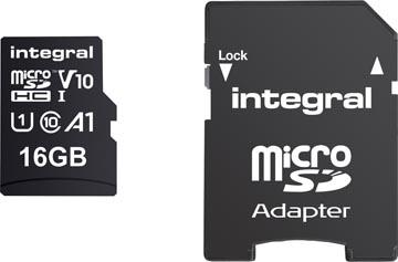 Integral microSDHC geheugenkaart, 16 GB