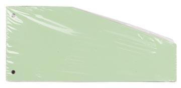 Pergamy trapezium verdeelstroken, pak van 100 stuks, groen