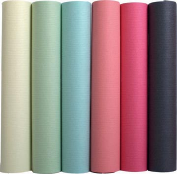 Exacompta inpakpapier geassorteerde pastelkleuren