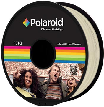 Polaroid 3D Universal PETG Filament, 1 kg, naturel