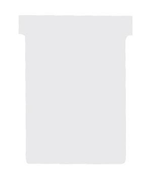 Nobo T-planbordkaarten index 3, ft 120 x 92 mm, wit