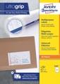 Avery Zweckform 3426, Universele etiketten, Ultragrip, wit, 100 vel, 8 per vel, ft 105 x 70 mm