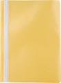 Pergamy snelhechtmap, ft A4, PP, pak van 5 stuks, geel